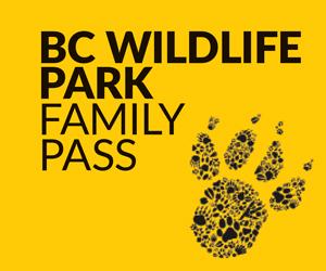 BC Wildlife Park Family Pass